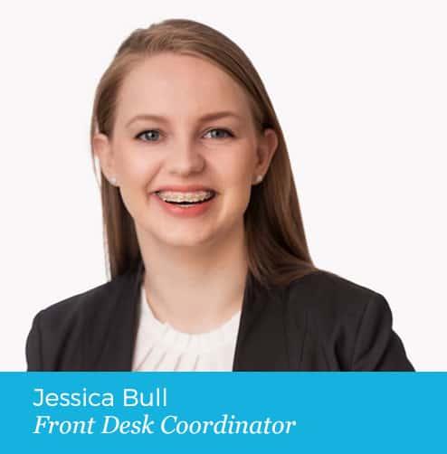 Jessica Bull Front Desk Coordinator Photo
