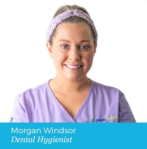 Morgan Windsor Dental Hygienist Photo